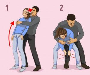 10 kỹ năng tự vệ khi bị tấn công