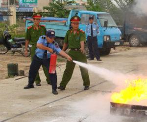 Nguyên tắc quan trọng trong hoạt động chữa cháy nhân viên bảo vệ cần biết